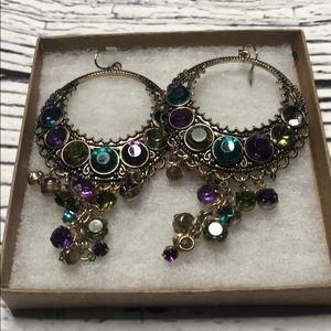 *6/$30* Jewel drop earrings